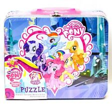 Cardinal My Little Pony Tin Lunch Box with 48 Piece Puzzle