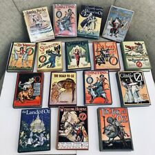 RARE LOT OF 16 WIZARD OF OZ BOOKS IN EXCELLENT CONDITION FOUR WITH DJ