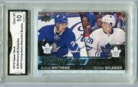 2016 Auston Matthews William Nylander UD Young Guns Rookie CL Gem Mint 10 #250