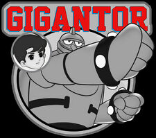 60's Cartoon Classic Gigantor & Jimmy custom tee Any Size Any Color
