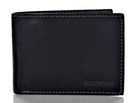 Steve Madden Smooth Grain Leather Passcase W/ Rfid