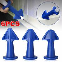 UK Silicone Caulking Finisher Tool Nozzle Spatulas Filler Spreader Tool Set TH