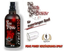 DELAY SPRAY - Penis super Verzögerungsspray 50 ml. -- TIME - POWER --