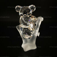 RARE Retired Swarovski Crystal Koalas / Koala Bear and Cub 955423 Mint Boxed