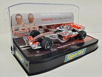 Slot car Scalextric Superslot H2806 Vodafone Mclaren Mercedes Alonso / Hamilton