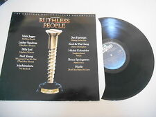 LP OST Ruthless People (10 Song) EPIC NEW ZEALAND PRESS / Jagger Springsteen