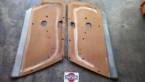 Datsun 70- 73 240z OEM Bare Door Cards----NO VINYL (2x, Left & Right)