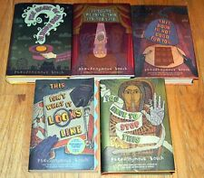 5 (1-5) PSEUDONYMOUS BOSCH Series CHILDREN BOOKS ~ 4 HCDJ & 1 SC Excellent!