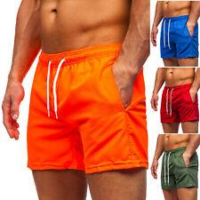 Badehose Shorts Badeshorts Schwimmhose Schwimmshort Unifarben Herren BOLF Sport