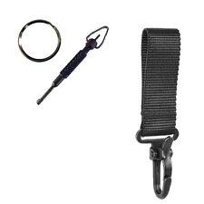 1 X PWL Nylon Key Hook & Black Handcuff Key - Police  Security