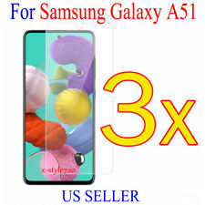 3x Clear Screen Protector Guard Cover Film For Samsung Galaxy A51 (2019)