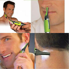 New Electric LED  Nose Ear Face Neck Eyebrow Hair Trimmer Shaver Cutter Clipper