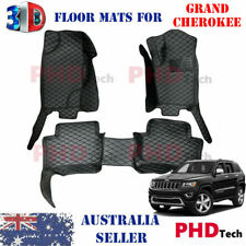 Premium Quality 3D All Weather Floor Mats for JEEP GRAND CHEROKEE 2011-2020