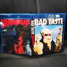 Braindead (Dead Alive) 1992 / Bad Taste 1987 Double Region Free Bluray Set