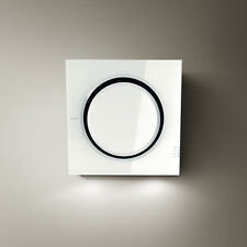 Elica MINI OM Wall Mounted Hood White Glass
