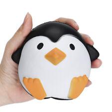 Super Kawai Jumbo Penguins Press Slow Rising Cream Scented Decompression Toys
