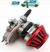 Carburatore mini quad pit bike mini cross 49cc + filtro + collettore