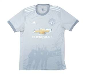 Manchester United 2017-18 Authentic Third Shirt (Excellent) M Soccer Jersey