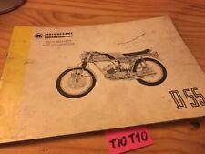 Motobécane cyclomoteur D55 D 55 catalogue pièces détachées Motoconfort