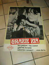 SOGGETTONE GRAZIE ZIA,LISA GASTONI,LOU CASTEL,FERZETTI,S.SAMPERI,E.MORRICONE
