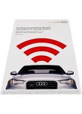 2012 2013 Audi A6 Vintage Advertisement Print Car Ad J446