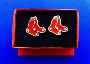 Boston Red Sox Cufflinks Baseball Cuff Links NEW US Seller Fast Shipping NEW