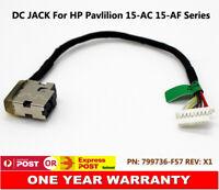 DC Power Jack For HP Pavilion 15-AC618TU T5R13PA Charger Port Socket w/ Cable AU