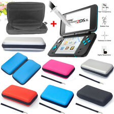 EVA Carrying Hard Case Cover Portable Pouch Card Holder+Film For Nintendo 2DS XL