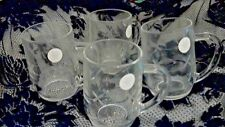 Princess House Crystal Mugs, Contemporary Elegance, NEW in box, Set of 4