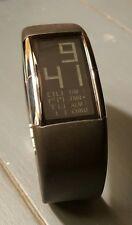 L@@K Rare Philippe Starck Fossil Alarm Chronograph Digital Watch PH-1028 NICE!