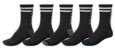 Globe Carter Crew Socks Size 7-11- Black