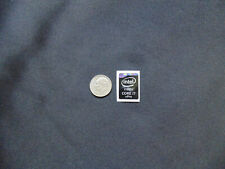 NEW! Tall BLACK Intel CORE i7 vPro Sticker Label Case Badge Logo. USA Seller!