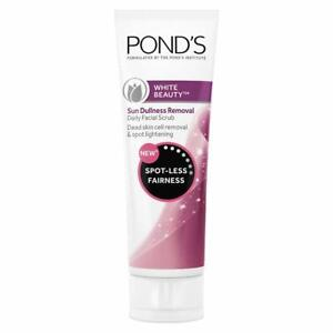 Ponds White Beauty Sun Dullness Removal Face Scrub, 100g  free shipping  US