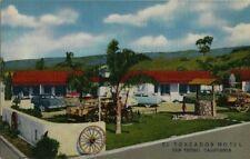 Old Postcard - El Toreador Hotel - San Ysidro CA