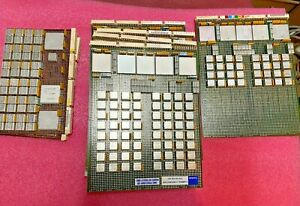 5+pounds Vintage IBM System/36 5360 System Boards for precious metal recovery