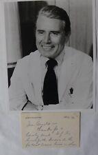 John Forysthe ANS & Photograph/1954