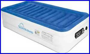Cloudnine Series Twin Air Mattress W Dual Smart Pump Technology By Products Blue