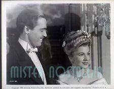 Vintage Photo 1947 Richard Ney Ivy Rare Universal  #88 Joan Fontaine