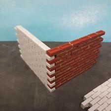 1/16 120MM escala 5 secciones de pared De Resina X Para Modelo Ferroviario soldado Diorama Etc