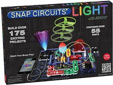 ELENCO Snap Circuits LIGHT SCL-175 iPod and iPhone compatible FREE PRIORITY MAIL
