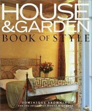 House & Garden Book of Style: The Best of Contemporary Decorating-ExLibrary