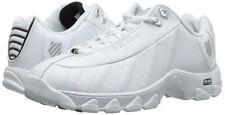 Men K-SWISS Comfort Memory Foam Training Shoe ST329 03426 -129 M White/Black New