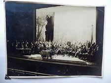TRIESTE SINDACATI FASCISTI Teatro Rossetti 1929 vecchia foto fascismo fascista