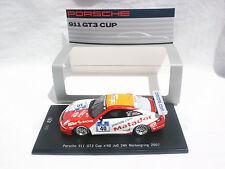 PORSCHE 911 GT3 CUP #40 24H NURBURGRING 2007 1/43 SPARK 162/300