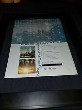 The Cardigans Erase/Rewind Rare Original Radio Promo Poster Ad Framed!
