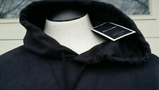 Religion We Live In Black Men's jacket hooded black Sz M NWT