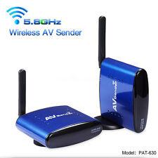 PAT-630 5.8GHz 656ft Wireless AV CCTV TV BOX Video Transmitter Receiver Sender