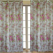 Europe latest generation design roses curtains pair new free shipping