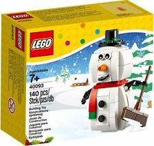 """LEGO 40093 Snowman (for Christmas) """"Hard to find item"""" """"Brand new in box"""""""