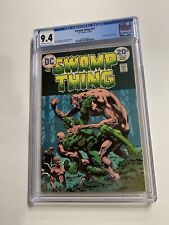 Swamp Thing 10 Cgc 9.4 Ow/w Pages Dc Bronze Age 2042366014